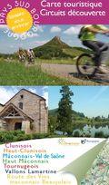 Carte touristique Sud Bourgogne